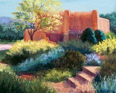 Springtime Adobe Pastel  - Candy Mayer
