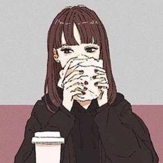 Aesthetic Art, Aesthetic Anime, Anime Amino, Cute Brunette, Cute Couple Cartoon, Avatar Couple, Amazing Drawings, Couple Art, Anime Kawaii