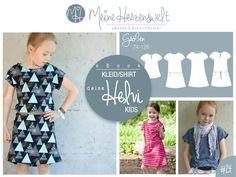"eBook - ""# 24 deine Helvi Kids"" - Kleid/Tunika/Shirt - Nähen - Kinder - Meine Herzenswelt"