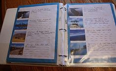 Vocabulary Pages: Land forms and bodies of water notebook page made by Jacob #notebooking #landforms