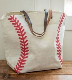Our canvas baseball tote bag is approximately x x Fully lined with zippered pocket inside and snap closure at top. Due to the popularity of this item, its current ship time is bus Baseball Crafts, Baseball Shirts, Baseball Stuff, Baseball Jewelry, Baseball Party Favors, Baseball Outfits, Baseball Bags, Baseball Bracelet, Travel Baseball