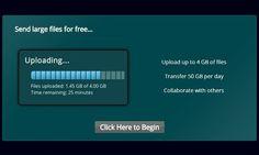 #FileBuck es un servicio con el que podemos enviar, de forma gratuita, archivos con un tamaño máximo de 4 Gb. El límite diario es de 50 Gb.