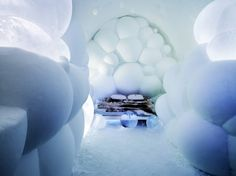 The Worlds Largest Ice Hotel by Art Design Group. Amazing!