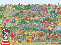 Where's Wally Unfriendly Giants 1000 piece puzzle