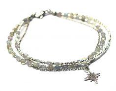 Náramek BRYXI z fasetovaného labradoritu NA0579 | BRYXI shop.cz Bangles, Bracelets, Diamond, Shop, Men, Jewelry, Fashion, Bangle Bracelets, Bangle Bracelets