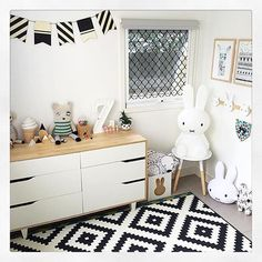 @love_zace has done a beautiful job creating this great shared bedroom for her kids featuring Kmart New wooden bunting and a animal hooks. ( Details on the other great items in this image can be found over on @love_zace insta image by tapping on it for businesses)Looks great @love_zace and I look forward to seeing the boys new play room too :) , thanks for tagging @get_inspired on your image so I could share to inspire others. Xo :)