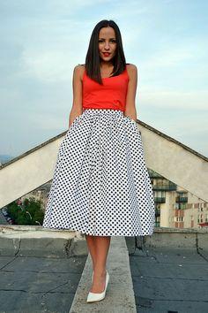 White Midi Skirt The fashion Creed