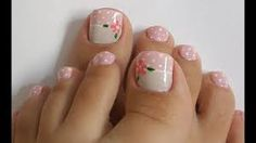 Imagen relacionada Pedicure Designs, Toe Nail Designs, Cute Pedicures, Manicure And Pedicure, White Pedicure, Witchy Nails, Pretty Toe Nails, Sassy Nails, Nail Time