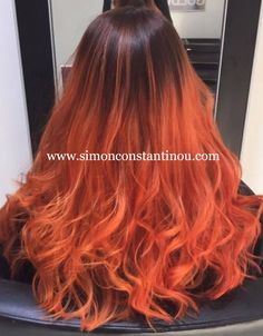 Cardiff's balayage specialists. Call 02920461191 to book a free consultation.  #Copper #RedHair #Balayage