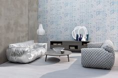 Méchant Studio Blog: nuvola futuristic cloud chair by Paola Navone