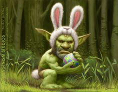 Easter WoW Goblin  by `imaginism