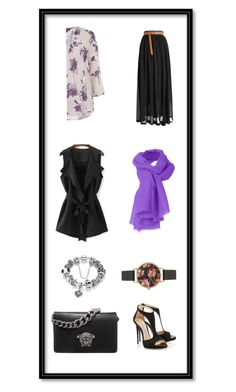 """2"" by wilypr on Polyvore featuring Billie & Blossom, Versace and Olivia Burton"