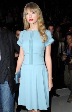 Taylor Swift Photos: Elie Saab: Front Row - Paris Fashion Week Womenswear Spring / Summer 2013