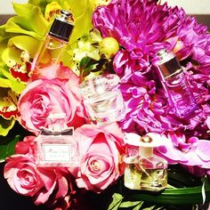 Everything's coming up roses. #perfume #minis