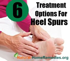 6 Treatment Options For Heel Spurs