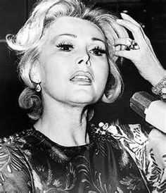 """""""I'm an excellent housekeeper. Every time I get a divorce, I keep the house."""" ~ Zsa Zsa Gabor"""