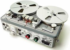 The Nagra IV-S professional tape recorder – a classic example of form and function in perfect harmony.