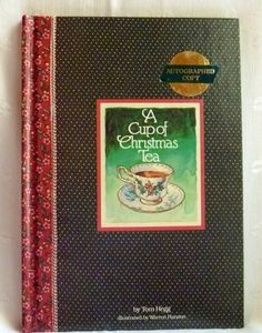 A Cup of Christmas Tea Autographed Copy Book by EauPleineVintage, $15.00