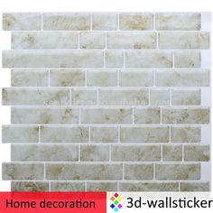 Tile Decoration Stickers Magnificent Glitter Magic Backsplash Peel And Stick Tile  Oblong Peel And Review
