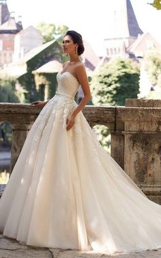 We have some good examples here among these wedding gown 47 suggestions and hope at least one fits your idea of THE bridal gown, as we did our best! There's more wedding planning help at wedwithbliss.com