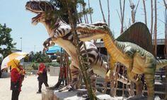 Sekiranya Anda Ke Muar Jangan Lupakan Taman Dinosaur Ini!