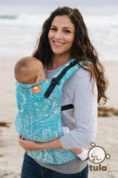 4c9050d1c95 (Toddler Size) Half Wrap Conversion Tula - Pavo Etini Veronica Baby  Carrying