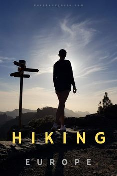 Learn about most beautiful places for hiking in Europe: our list contains off-the-beaten-track trekking destinations & top trials in Europe Hiking Routes, Hiking Europe, Hiking Spots, Go Hiking, Hiking Tips, Europe Travel Tips, Places In Europe, Europe Destinations, Slow Travel