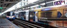 Bangkok Skytrain Bangkok, Thailand, Train, Travel, Taekook