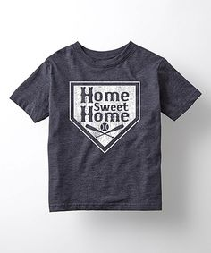 Another great find on #zulily! Heather Blue 'Home Sweet Home' Tee - Kids by Sporteez #zulilyfinds