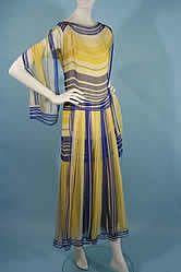 1920s Flapper Day Dress