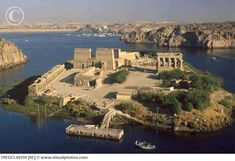 Philae Island location of the Temple of Isis