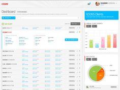 UI web application Dashboard