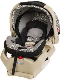 Graco SnugRide 35 Infant Car Seat- loved our Graco infant seat, but couldn't use it up to the 32 lb weight limit because that's super-heavy to get in and out of the car!  Can buy an additional base for a 2nd car.