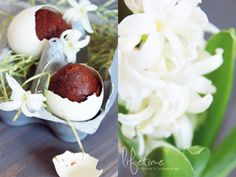 Lifetime: DIY, Brownie in a egg, Easter, Easter egg, Ostern