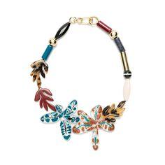 www.cewax.fr aime la nouvelle collection Bimba Y Lola - Flower necklace