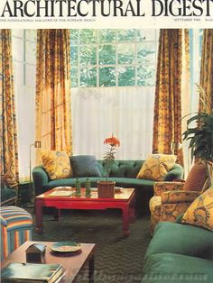 Architectural Digest September 1981