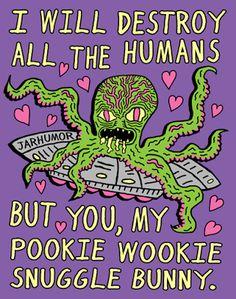 The Spooky Vegan: Spooky Valentine's Day Cards