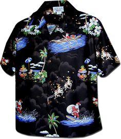 61cc74a65c7826 Hawaiian shirts for women | Women's Hawaiian Shirts Santa and reindeer!  Christmas Hawaiian Shirts,