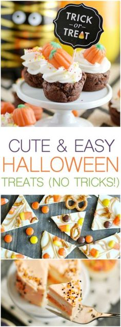 Cute & Easy Halloween Desserts