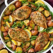 My favorite type of chicken will probably always be lemon chicken. I love the way the vibrant flavor of lemon compliments and enhances chicken, I also love