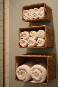 baskets for towels
