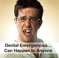 Dental Emergencies can happen to anyone at any time. Make sure your dentist offers emergency dentistry services. #Ed #Helms http://www.alcandentalanchorage.com/emergency-dentist-anchorage/