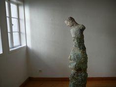 ceramic sculpture, exhibition 2010, gallery Hilde Holstein Bremen