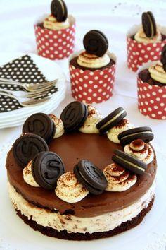 Csokoládéskeksz-torta