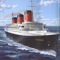 ss normandie   SS Normandie by Kipfox32 on DeviantArt