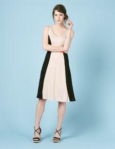Louisa Colourblock Dress