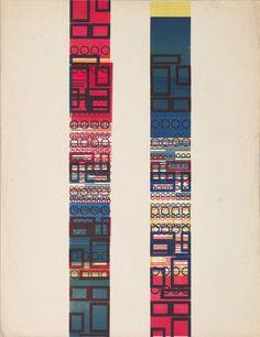 Karel Martens Untitled, 1958 letterpress monoprint on paper