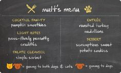 Thanksgiving menu for dogs - vet-approved recipes