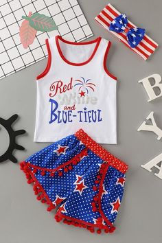 Girl Outfits, Cute Outfits, Pink Phone Cases, Justice Clothing, Girl Stuff, Beautiful Babies, Independence Day, Baby Kids, Little Girls