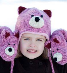 teddy bear animal hat